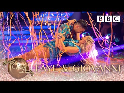 Faye Tozer & Giovanni Pernice dance the Cha Cha to Lullaby - BBC Strictly 2018