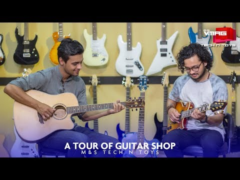 A tour of Guitar Shop | M&S TECH & TOYS | M&S VMAG
