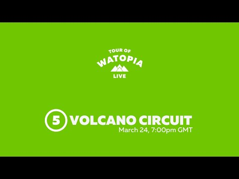 2020 Tour Of Watopia // Pro-Am Race - Stage 5