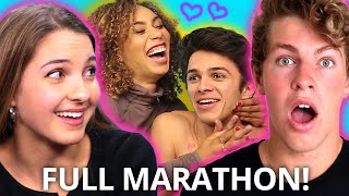 Ultimate COUPLE SHIP Marathon - Who do YOU ship? w/ Brent & Lexi Rivera, Eva Gutoskiw, Ben Azelart