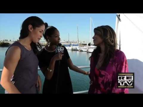 ROSEWOOD  On the set with Lisa Vidal and Jaina Lee Ortiz