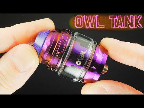 TOP Airflow SubOhm Tank! The Owl By Advken!