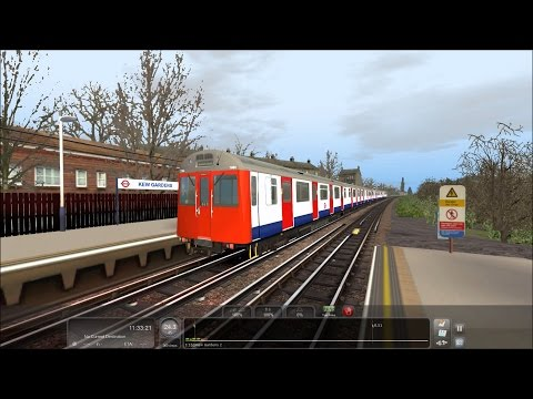 Train Simulator 2017 HD: Chasing London Underground District Line D78 Stock (5/12/17)