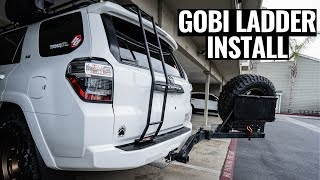 GOBI LADDER INSTALL ON A 5TH GEN 4RUNNER