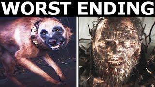 Blair Witch - Bad Ending & The Worst Final Outcome (Horror Game)