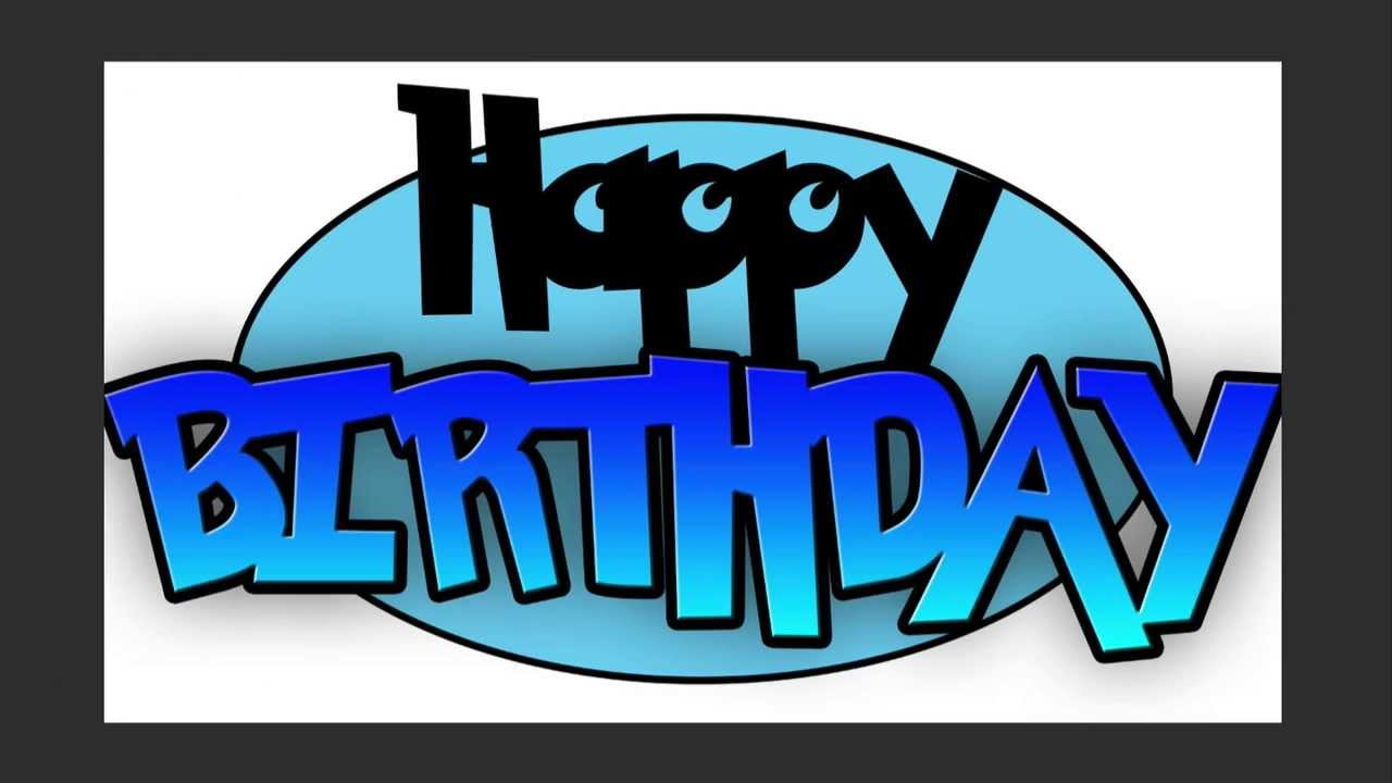 Happy Birthday Will - Part 3 - Birthday Logo