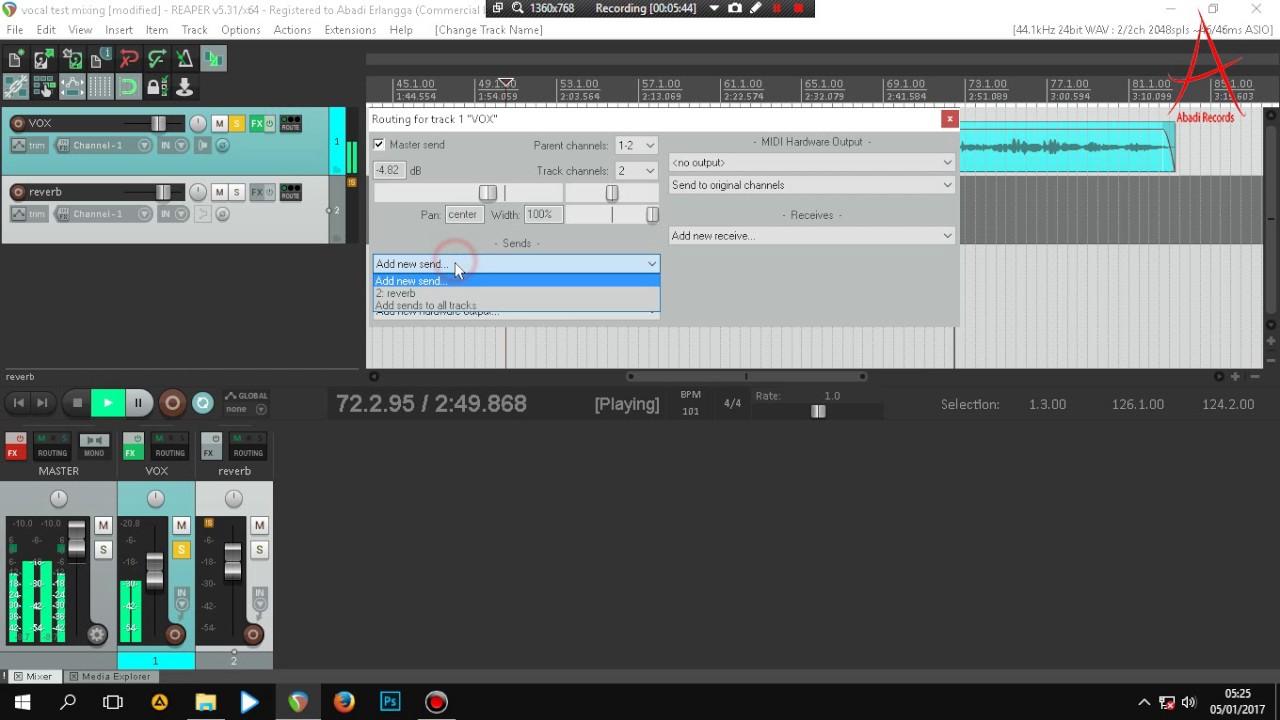mixing vocal pop reaper youtube. Black Bedroom Furniture Sets. Home Design Ideas
