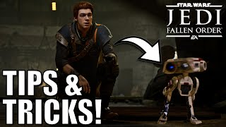 Tips and Tricks you MUST know in Jedi: Fallen Order! (No Spoilers)