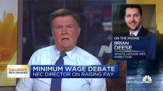 Harris won't weigh in on parliamentarian's decision against minimum wage, says Biden advisor Brian D