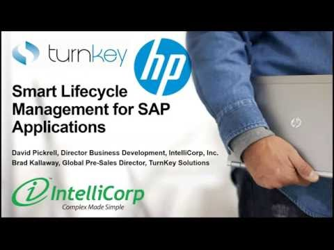 Smart Lifecycle Management for SAP