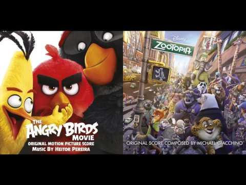 Friends Try Everything - Angry Birds / Blake Shelton & Zootopia / Shakira Mashup