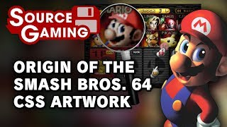 Origins of the Smash 64 CSS Artwork