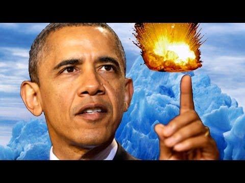 Obama Drone Strikes Climate Change!?!