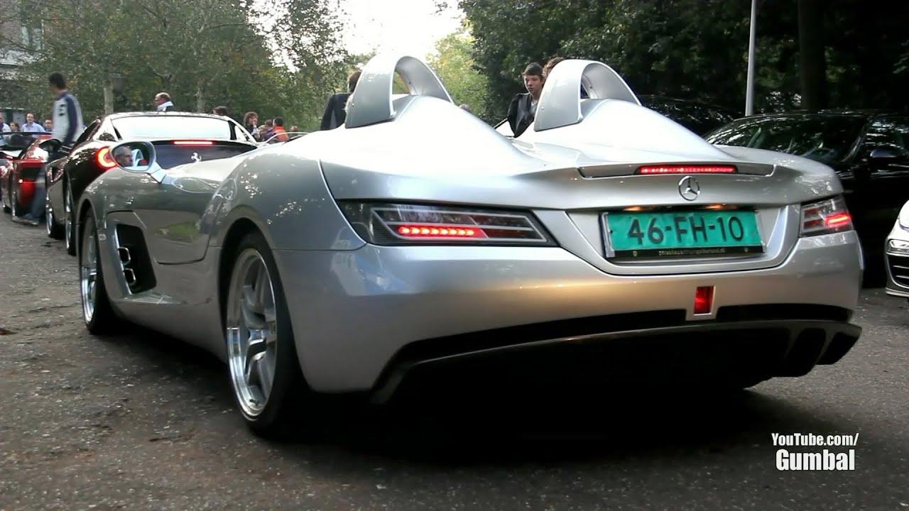 Mercedes Benz SLR McLaren Stirling Moss   Exhaust Sound!!   YouTube