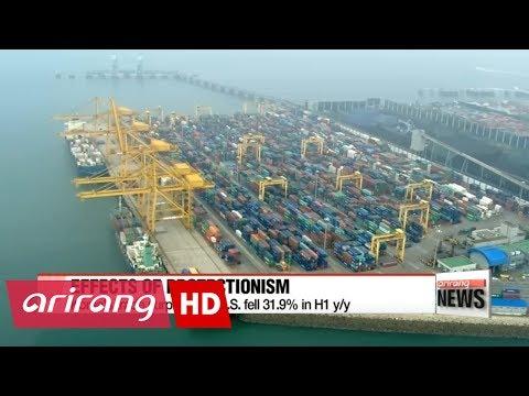 Bilateral trade between Korea, U.S. declined in H1