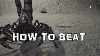 Dark Souls 2 How to Beat Scorpioness Najka BOSS