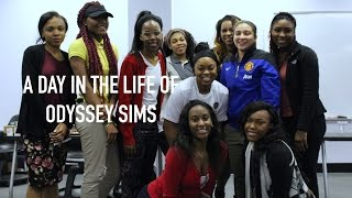 The Off Season -  A Day In The Life of WNBA Star Odyssey Sims