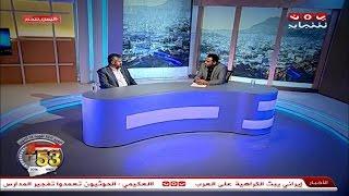 #شاهد | حديث المساء 3 حوار مع قائد المقاومة الشعبية بتعز الشيخ حمود المخلافي 7-10-2016