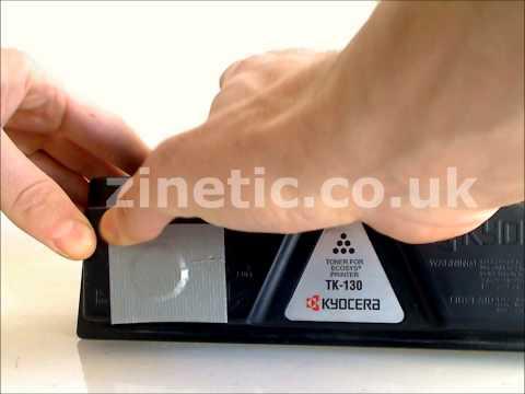 how to change toner on kyocera fs c2126mfp