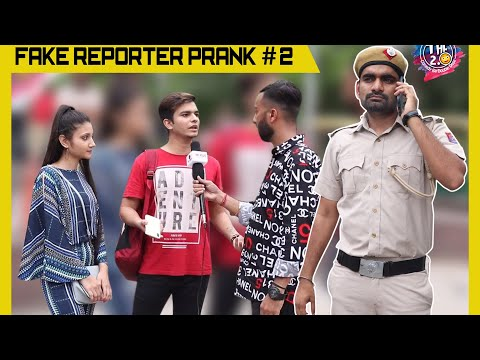 Fake Reporter Prank Part 2 Ft. The Hungama Films | THF 2.0 | Ashish Goyal