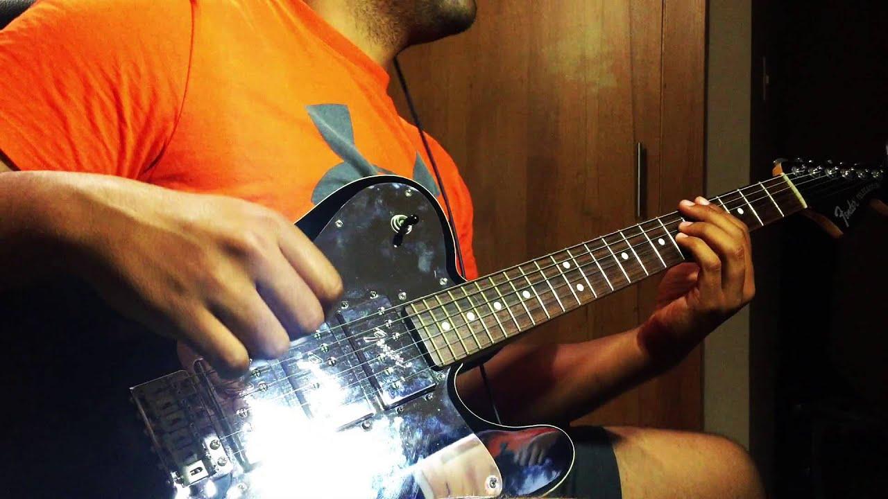 Guitar Cover Israel New Breed Chasing Me Down Ft Tye Tribbett