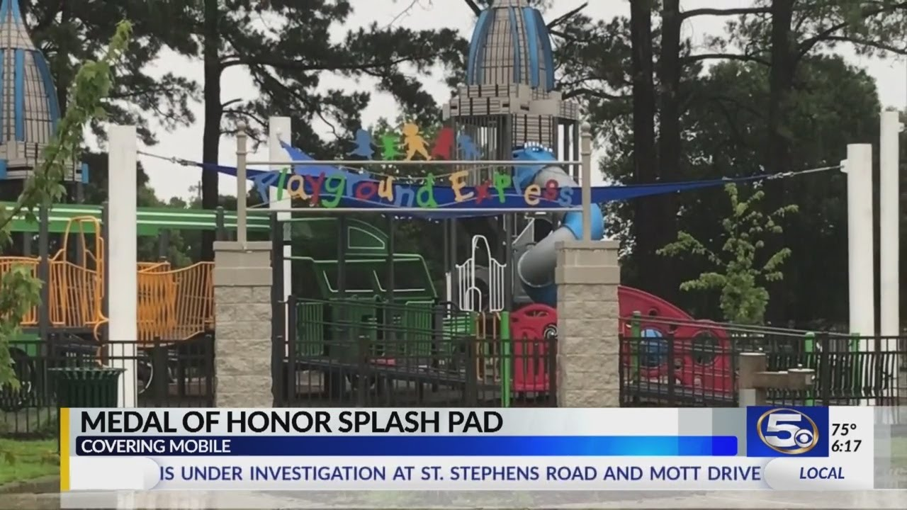 Download Splash pad approved for Medal of Honor Park in West Mobile