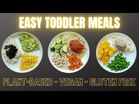 Easy Vegan Toddler Meals - Plant-Based and Gluten Free!