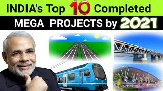TOP 10 Completed Projects in INDIA #2021 ll New List 🔥 Mega Engineering Marvel project Thumb