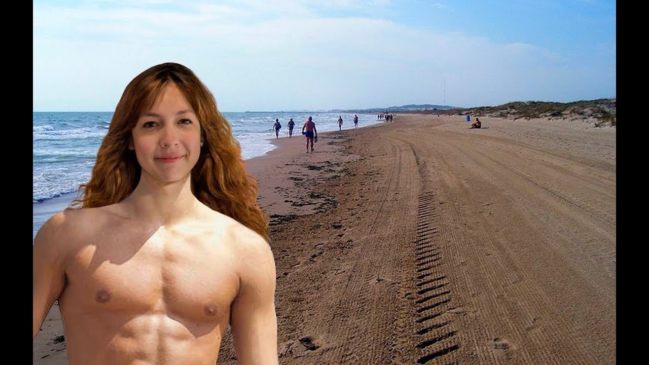 Modelo argentina foto mujer desnuda playa nudista 55