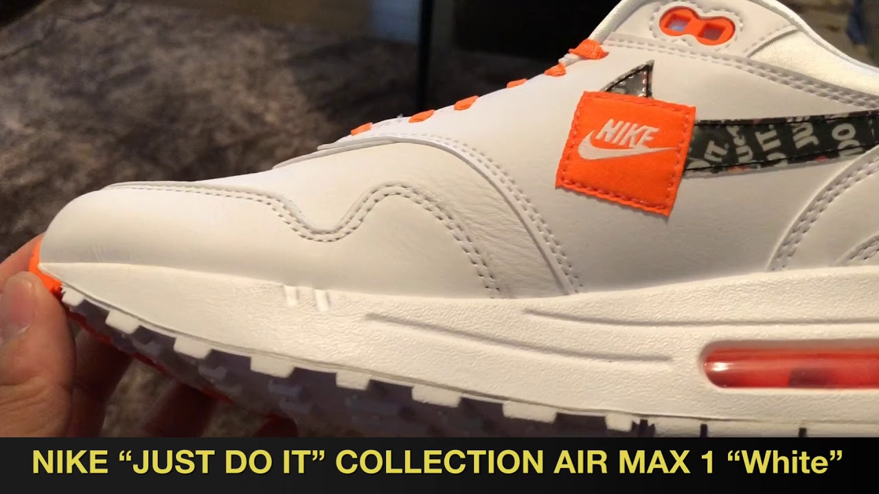 """f557cde2afd38c NIKE """"JUST DO IT"""" COLLECTION AIR MAX 1"""