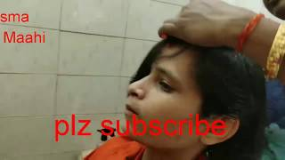 Bobhaircut Girl's newlook Boy haircut vlog nearest beautysalon long to short hairwoman hair cut vlog