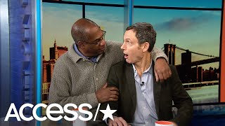 Joe Morton crashes Tony Goldwyn's Access Live interview and the duo...
