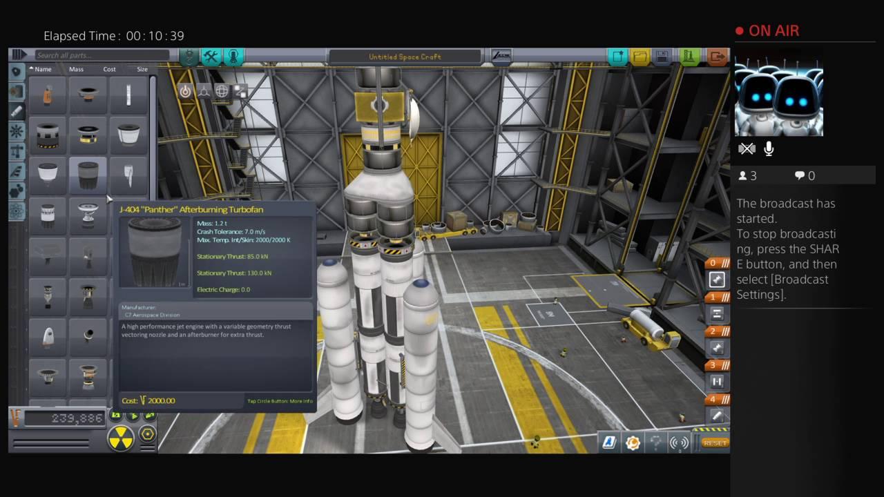 Kerbal Space Program PS4 - YouTube