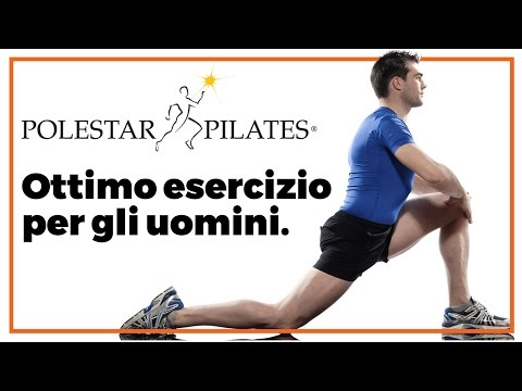 Ottimo esercizio per gli uomini. Polestar Pilates Italia.
