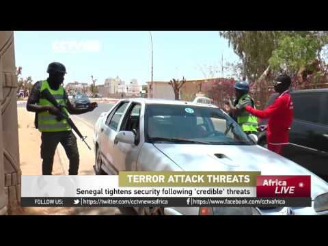 Senegal tightens security following 'credible' terror threats