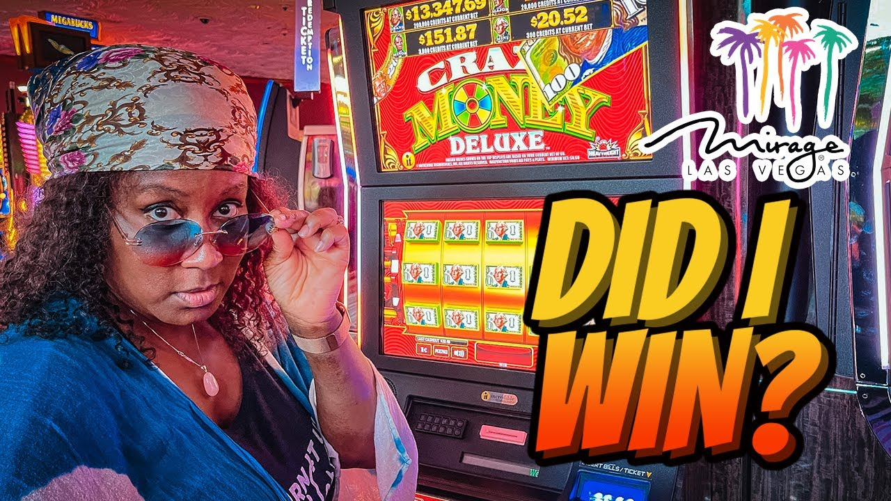I Put $100 in a Slot at The Mirage in Las Vegas...Here's What Happened! 😳