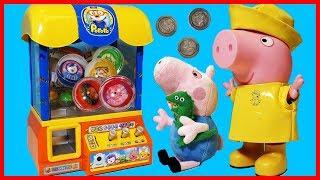 佩佩豬粉紅豬小妹Peppa Pig與小企鵝啵樂樂 Pororo 夾娃娃機玩具