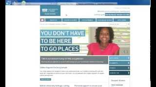 Making an application with the University of Derby Online Learning (Part 1) - Creating an account