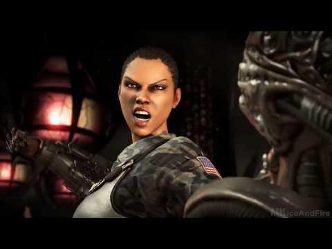 Mortal Kombat X ALL Fatalities On Alien Fatality Gameplay