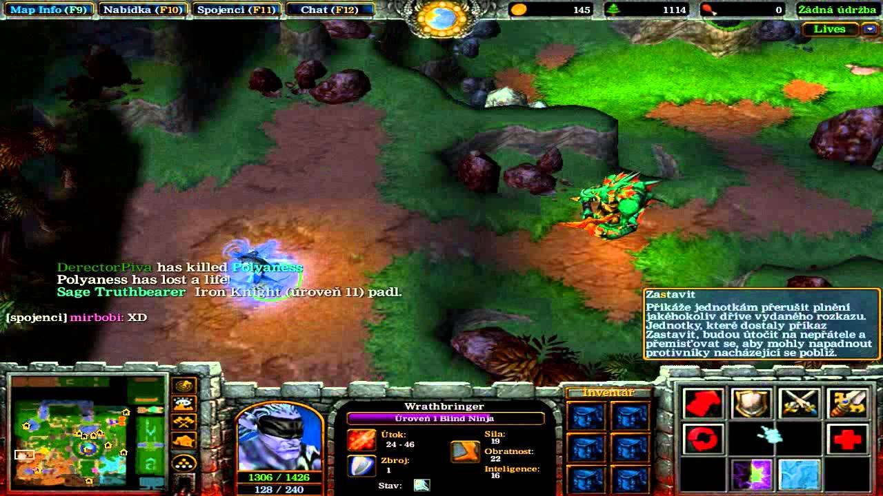 Карта Эволюция для Warcraft 3 Frozen Throne
