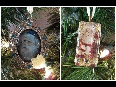 Christmas Ornament Tutorial Using ICE Resin
