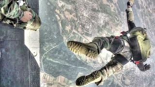 بالفيديو - قوات خاصة أمريكية تنفذ قفز حر جنوب ألمانيا
