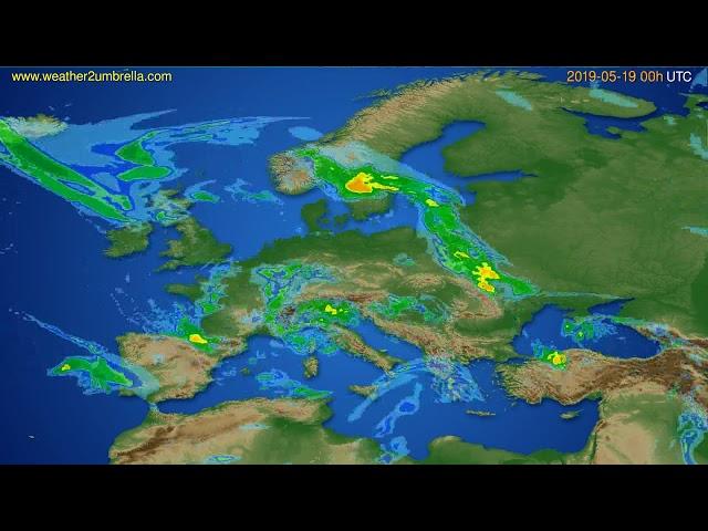 <span class='as_h2'><a href='https://webtv.eklogika.gr/radar-forecast-europe-modelrun-12h-utc-2019-05-18' target='_blank' title='Radar forecast Europe // modelrun: 12h UTC 2019-05-18'>Radar forecast Europe // modelrun: 12h UTC 2019-05-18</a></span>