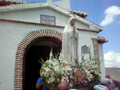 La Virgen llega a su ermita- Romería 08 Restábal