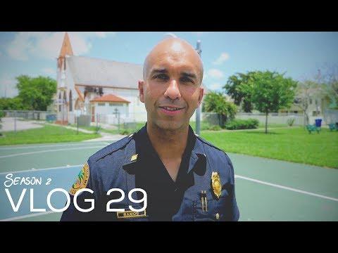 Miami Police VLOG: Goodbye Commander Ramos