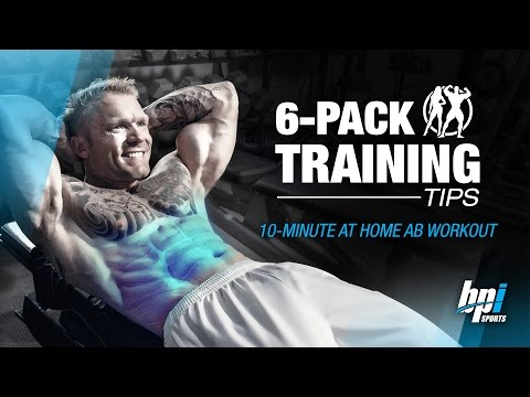 10 Minutes At Home Ab Workout – 6-Pack Training