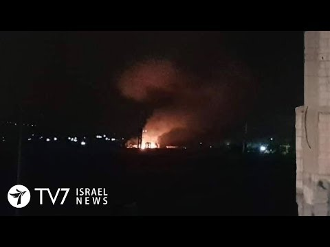 Israel conducts deadly air-raid on Iranian targets in Syria - TV7 Israel News 15.04.19