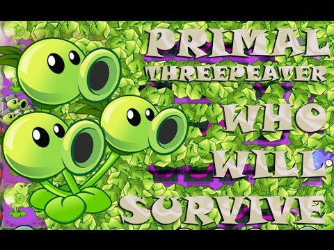 Plants vs Zombies 2 Epic Hack : Who Will Survive - The Wrath of Primal Peashooter
