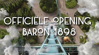 Livestream: Officiële opening dive coaster Baron 1898 – Efteling