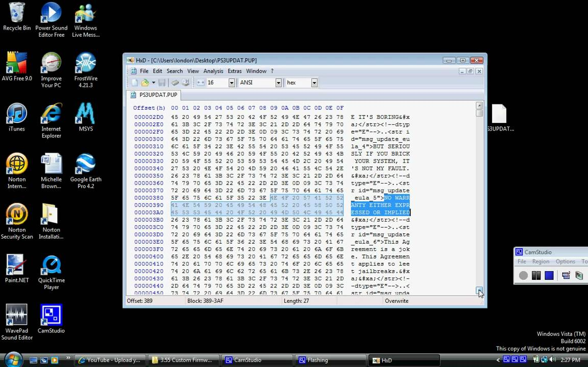HxD Hex Editor - YouTube